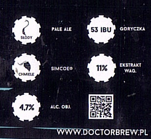 Doctor Brew Simcoe Session IPA
